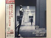 EDDIE HIGGINS TRIO haunted heart JAPAN VENUS TKJV-19041 180g LP with OBI