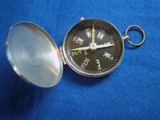 Vintage Hunter Cased Pocket Compass with Transit lock