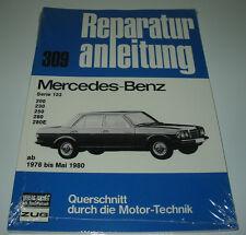 Reparaturanleitung Mercedes W 123 200 / 230 / 250 / 280 E 1976 - Mai 1980 NEU!