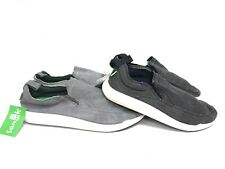 3274610e3f Sanuk Chiba Quest Canvas Sidewalk Surfers Black or Grey Gray 1091089 Slip On