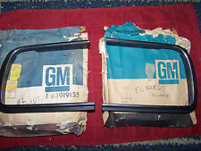 NOS GM 67-68 CAMARO RS RALLY SPORT LFT RT HEADLIGHT BEZEL NOS GM # 3919155 9156