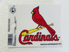 "St. Louis Cardinals 3 x 4"" Small Static Cling - Truck Car Auto Window Decal NEW"