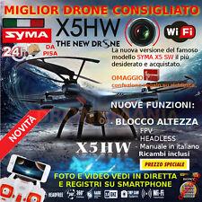 DRONE SYMA X5 HW WIFI +BLOCCO ALTEZZA LA QUALITA' AL PREZZO + BASSO IDEA REGALO