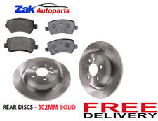 FITS RANGE ROVER EVOQUE 2011-2015 REAR BRAKE DISCS AND PADS