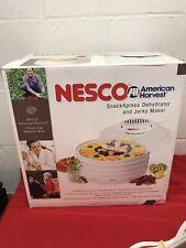 Nesco American Harvest Snack Xpress Food Dehydrator Jerky Maker FD-37 400 W