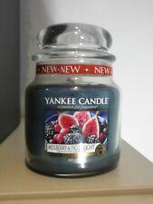 YANKEE Candle MEDIUM JarMULBERRT & FIG DELIGHT 411g