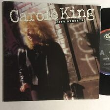 """Carole King City Streets EXc 1989 Capital Records 7"""" Record"""