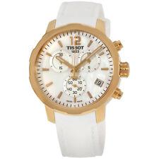 Tissot T0954173711700 Quickster Chronograph Mens Watch-MOP Dial Quartz Movement