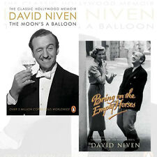 David Niven Collection 2 Books Set (The Moon's a Balloon ,Bring on the Empty Hor