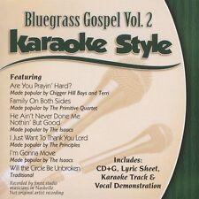 Various Artists Daywind Karaoke Style: Bluegrass Gospel, CD