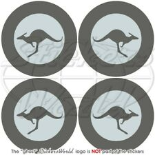 """Australia Air Force RAAF LowVis Aircraf Roundel 2"""" (50mm) Decals Stickers x4"""