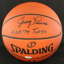 Jerry Lucas SIGNED Spalding Official NBA Basketball + HOF 79 PSA/DNA AUTOGRAPHED
