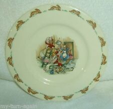 Royal Doulton Bunnykins Barbara Vernon English Fine Bone China Childs Plate