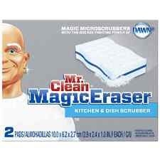 Mr. Clean Magic Eraser Kitchen - Dish Scrubber 2 ea (Pack of 4)