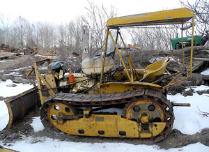Rare Cab assembly - for Cletrac to Oliver HG and OC-3 Crawlers