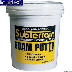 Woodland Scenics ST1447 Foam Putty Pint
