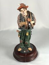 Duncan Royale Collector Clown Statue Tramp Special 1st Edition Broken Music Box