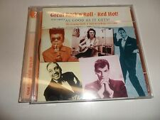 CD rock 'nroll red hot! de various (2010) - DOUBLE CD