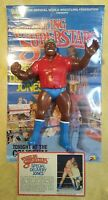 VINTAGE LJN WWF S.D. JONES (RED SHIRT) WRESTLING SUPERSTARS FIGURE 1986 WWE