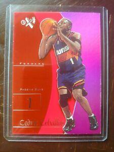 1997-98 Ex2001 Cedric Ceballos Credentials 19/39. NBA basketball