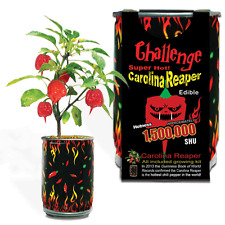 CAROLINA REAPER PEPPER GROWING KIT ALL INCLUDED GROW YOUR OWN PEPPERS SEEDS