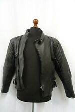 Men's Vintage 1980'S Cowhide Motorcycle Punk Leather Jacket 42R (M)