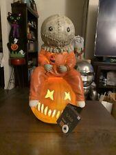 16 Inch Light-Up Sam Statue Decoration - Trick 'r Treat Greeter Halloween Prop