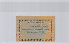 Belgique Commune d'Assebroek 1 Franc 20.5.1940 n° 20052