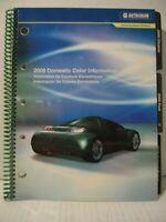 2009 Nexa Autocolor Domestic Color Information Paint Chip Book
