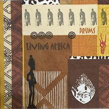 2 single paper napkins decoupage Craft collection Serwetki ETHNIC Africa Pattern