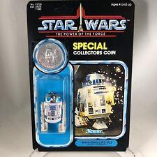 1985 STAR WARS Vintage R2-D2 Figure with COIN - POTF - MOC Custom