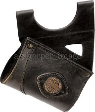 Leatherworks Premium Black Leather LARGE Hefty Sword Rapier Holder LARP SCA