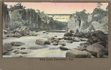 Postcard Australia Cora Lynn & steel bridge Launceston Tasmania, unused