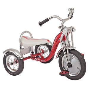Schwinn Kids Children Toddlers Trike Tricycle Retro 3 Wheels Safety 2+ Xmas Gift