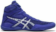 Asics Men's Matcontrol 2 Wrestling Shoes 7.5, Asics Blue/White