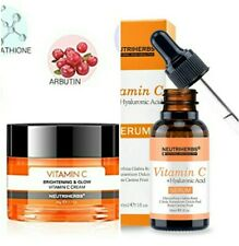 Neutriherbs Vitamin C Moisturiser Face Cream + Serum Vitamin C. KIT Vitamin C