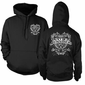 Waylon Jennings WJ Country Music Band Adult Mens Pullover Hoody WAY10095983