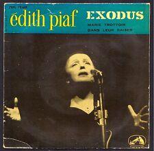 EDITH PIAF RARE Pressage ESPAGNE SPAIN EXODUS 45T EP BIEM PATHE 7EPL 13.601