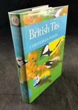 1979 THE NEW NATURALIST LIBRARY BRITISH TITS NUMBER 62 DUST WRAPPER 1ST EDITION