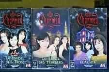 Lot 3 Livres Charmed Série TV M6 Shannen Doherty Alyssa Milano Piper Halliwell