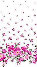 Michael Miller Bed of Roses Cabbage Border CX7141-ROSE-D bty fabric new