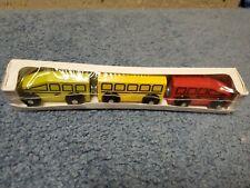 00004000 Ikea Lillabo Wooden Bullet Train 3-Piece Set Works w/ Thomas Brio Tracks Railway