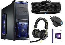 Gamer PC Intel Core i5 6600k 4x3,9Ghz-16GB-2GB GTX750 Gaming SSD HDD computer