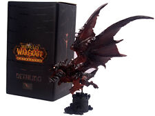 WOW WORLD OF WARCRAFT/ FIGURA EVIL DRAGON 22 CM- DEATHWING NELTHARION FIGURE BOX