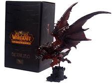 WOW WORLD OF WARCRAFT/ FIGURA EVIL DRAGON 22 CM- DEATHWING NELTHARION FIGURE BOX