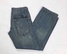 Fuell jeans W30 tg 44 straight relaxed comodo dritti uomo usati strappi T1952