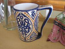 JP Limoges hand Painted Middle Eastern  Design Mug