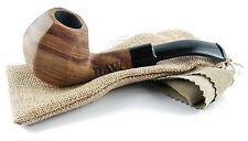 RAW Holzpfeife aus Öko-Holz + Aktivkohlefilter Tabakpfeife aus Bubinga Holz