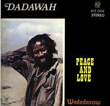 Dadawah - Peace And Love - Wadadasow LP Ras Michael Deep Nyabinghi Roots Reggae