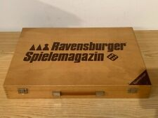 Ravensburger Spielemagazin - sehr große Spielesammlung in schöner Holzkiste !!!
